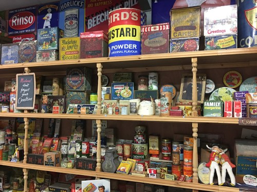 Oakham Treasures old groceries and packaging