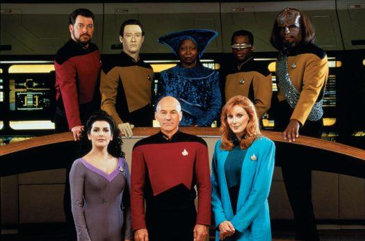 Star Trek The Next Generation Crew