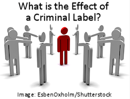 What is the Effect of a Criminal Label? Shaming Behavior Inflicted Upon a Central Figure in Red