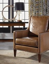 Vanguard Compendium Leather Arm Chair