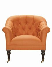 Lee Industries Upholstered Tufted Chair