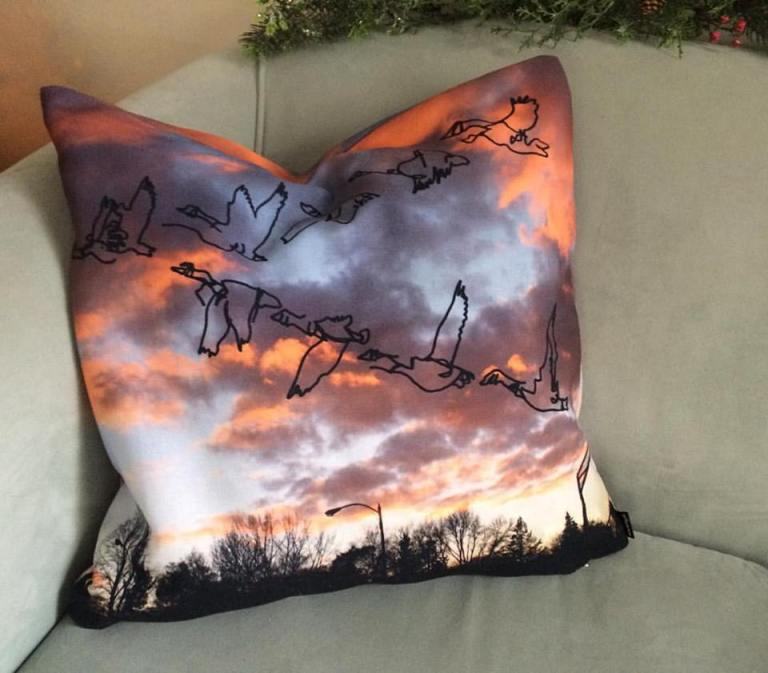 goose pillow