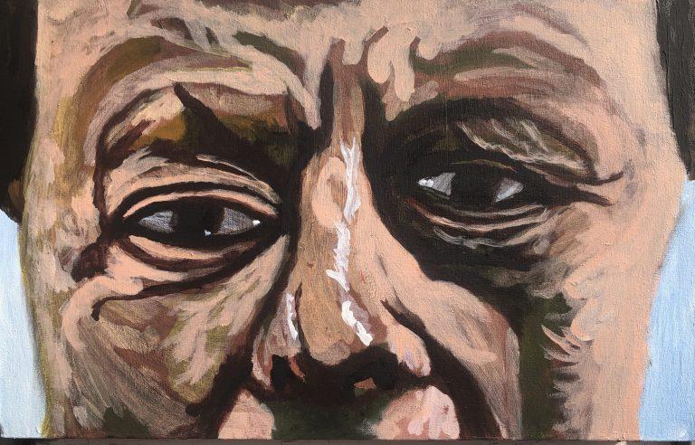 Portrait of Lucien Freud