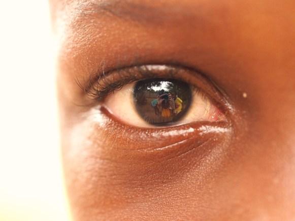 Child's Eye, Backstreets of Ho, Ghana