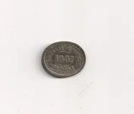Dundee Relief Communion Token