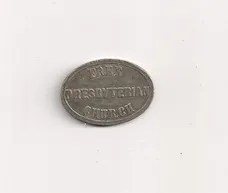 Free Presbyterian Church of Scotland Communion Token