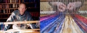 James Dillehay weaving