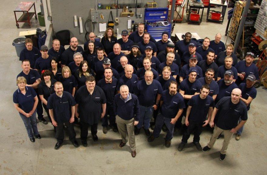 James Electric Motor Services Ltd. - Group photo