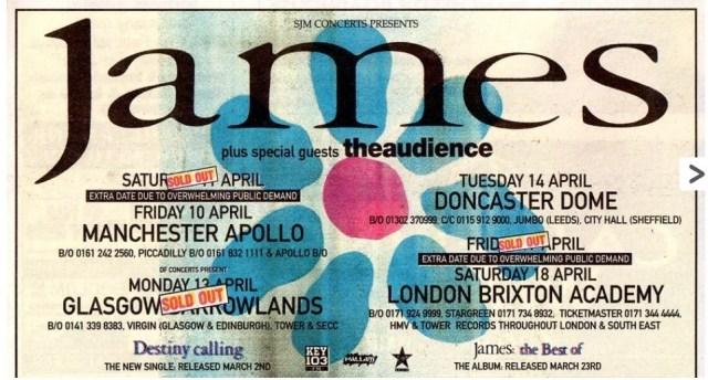 Manchester Apollo – 11th April 1998