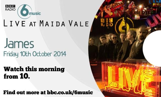 Maida Vale Studios – 10th October 2014 (video)