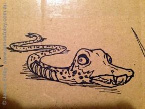 zombie snake