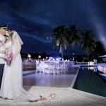 fotografias-de-bodas-en-la-playa-monasterio-resort-girardot-fotografos-de-bodas-james-alberth-fotografias-de-noche-bodas