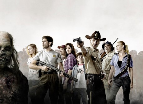 The cast of the Walking Dead - Season 1