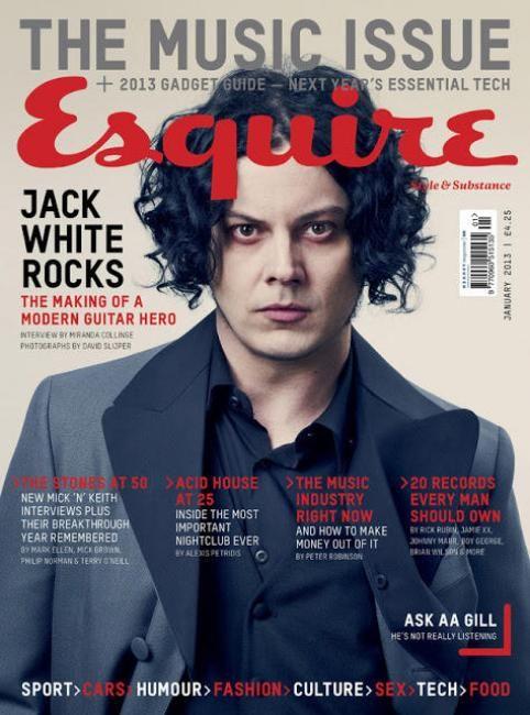 esquire jack white cover