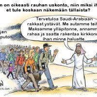 Missä viipyy vauraan arabimaailman solidaarisuus uskonveljilleen?