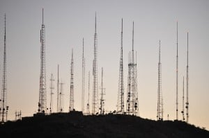 Transmission towers, wifi