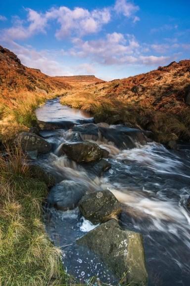 Carl Wark and Burbage Brook - Carl Wark Sunrise - Peak District Photograhy