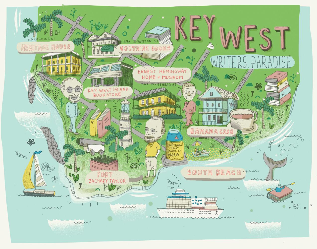 Key West Map
