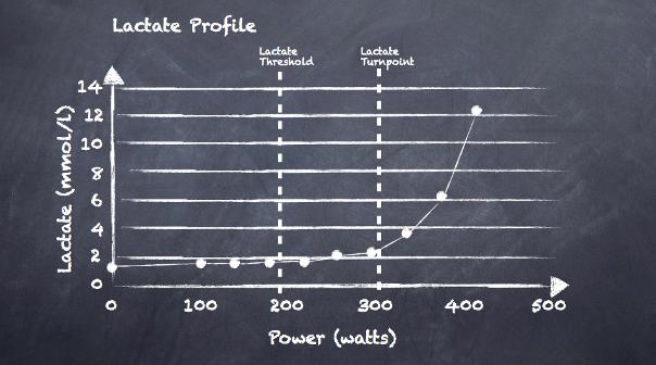 Lactate profile chalkboard