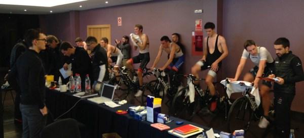 Trek indoor training