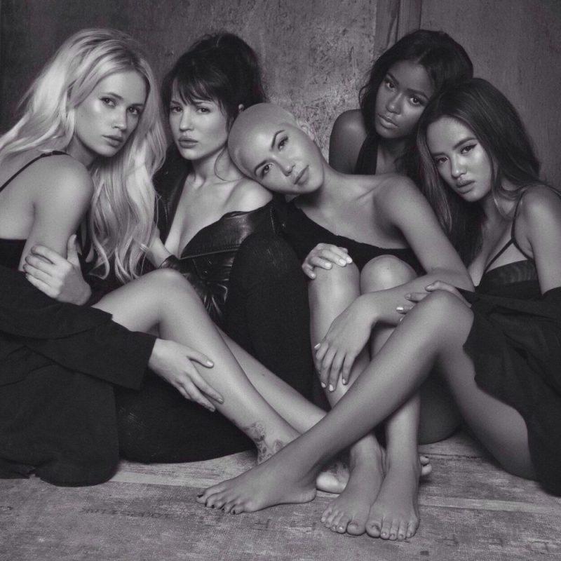 GRL Photoshoot with James Hickey (Lauren Bennett, Natasha Slayton, Paula Van Oppen, Simone Battle and Emmalyn Estrada)