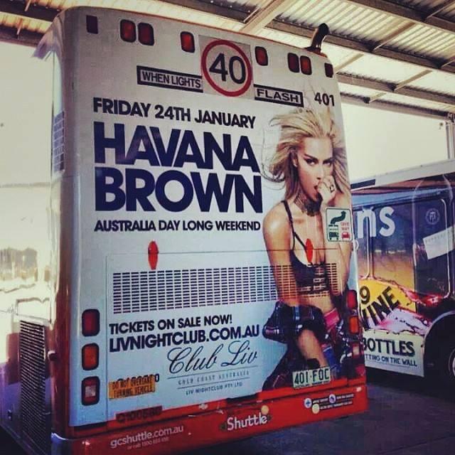 musician- DJ Havana Brown james hickey buss wrap