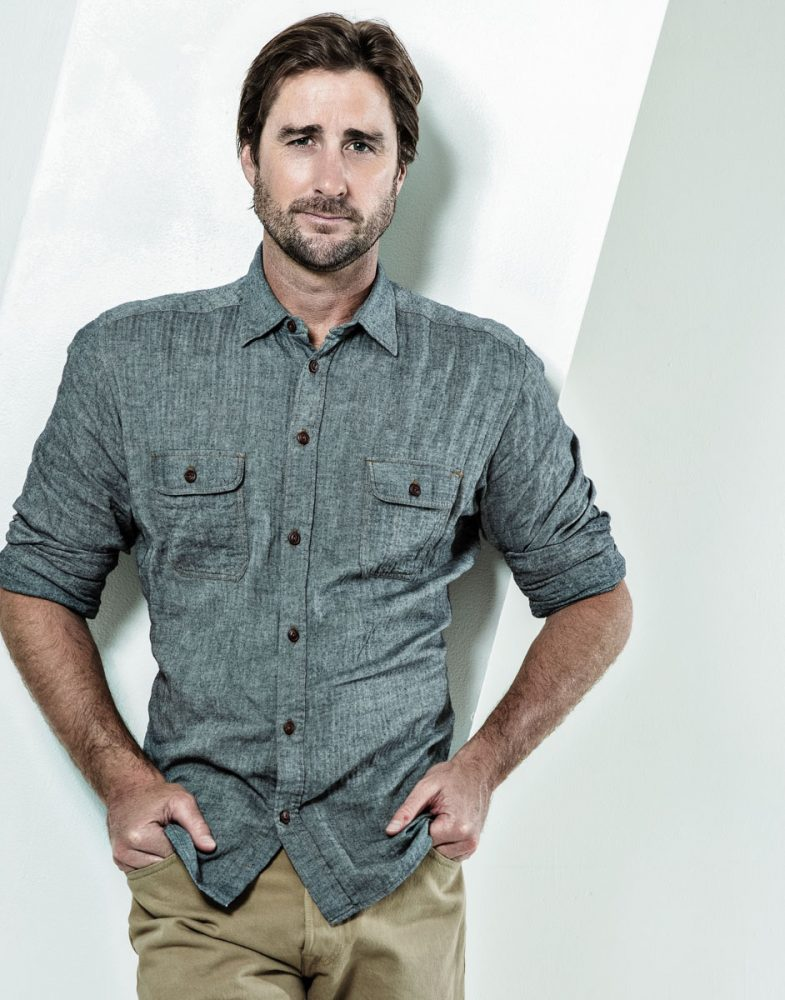 Actor Luke Wilson, Photographed by James Hickey