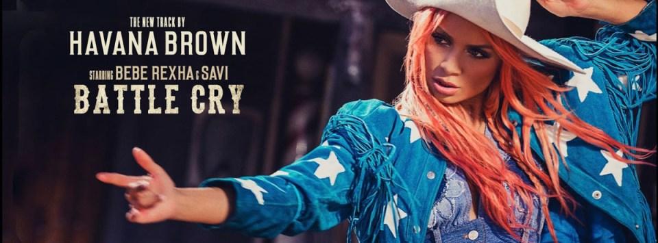 Havana Brown BATTLE CRY featuring BeBe Rexha & Savi. Photographer James Hickey.