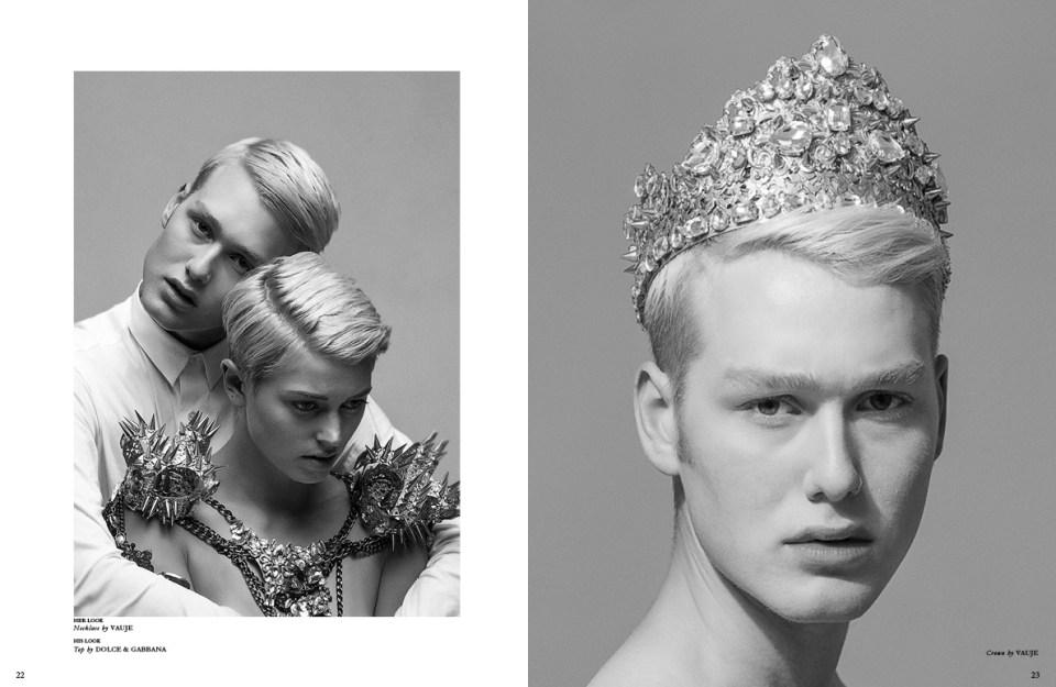 Vauje Editorial for Astonish Magazine by Los Angeles Photographers James Hickey and Tatiana Junqueira