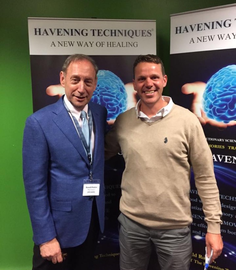 Havening Techniques® creator  Dr Ronald Ruden  and James Hymers