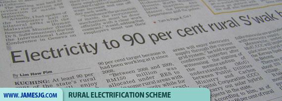 Rural electrification Scheme