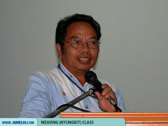 DAM President 2008-2009, Mr. Alexander Isut Karin