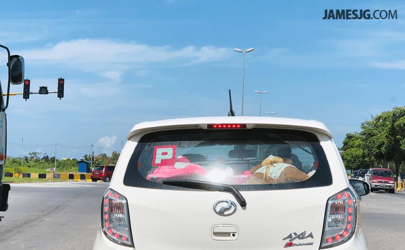 Slow down, traffic lights ahead