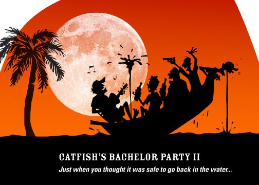 Catfish Bachelor Party invite II
