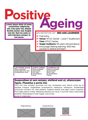 Mockup Positive Ageing Poster