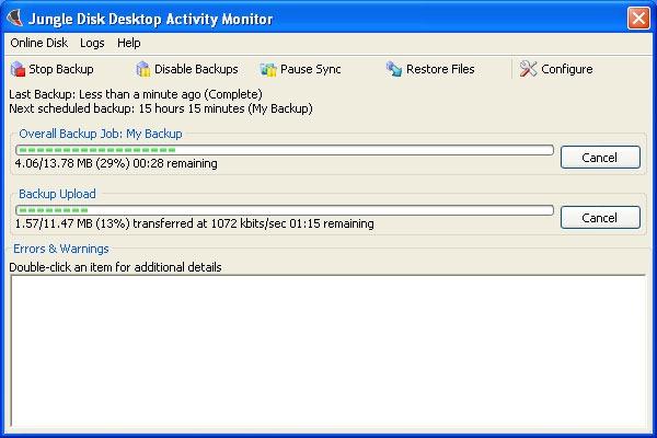 Jungle Disk Backup Software