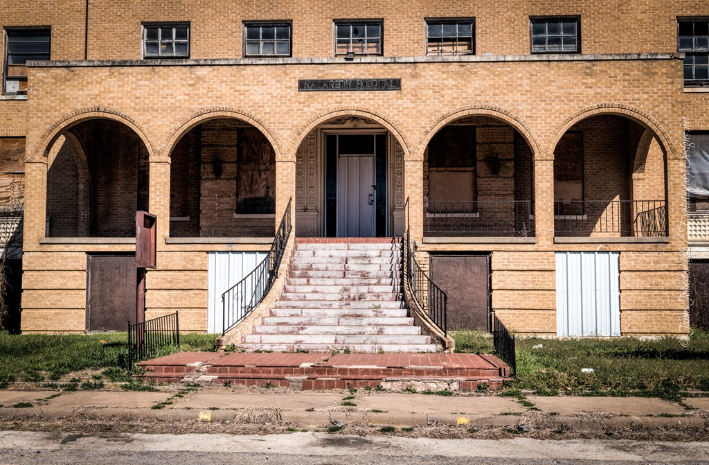 The Old Abandoned Nazareth Hospital In Mineral Wells