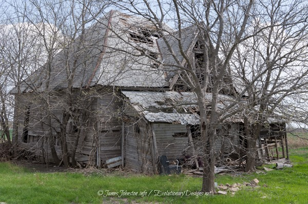Abandoned Farmhouse Near Gunter, Texas