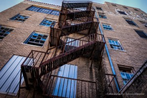 Random Picture of the Week #19: The Old Abandoned Nazareth Hospital in Mineral Wells, Texas Fire Escape