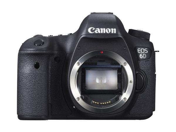 Canon EOS 6D 20.2 MP CMOS DSLR (Body Only)