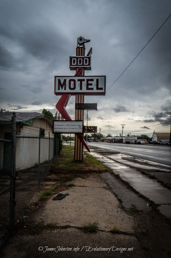 The Long Time Abandoned Triple DDD Motel in Wichita Falls