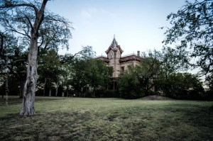 The Waggoner Mansion in Decatur, Texas