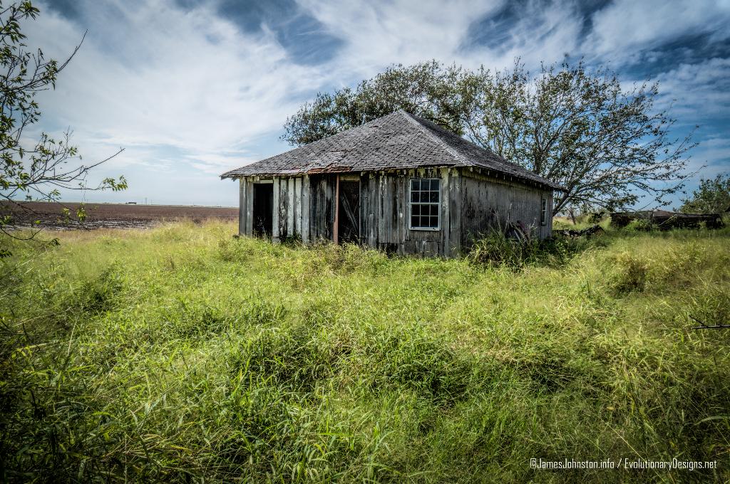 Abandoned Farm House Near West Sinton, Texas