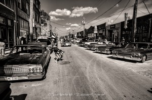 Day 2 of the 5 Day Black and White Photo Challenge: Street Photography at the Invasion Car Show