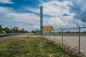 The Long Time Abandoned Bonham Drive-In Theatre