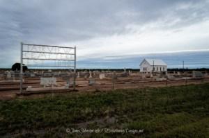 Fairview Cemetery and Church in Tuxedo, Texas