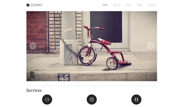 Zoomy - Photography WordPress Theme - TeslaThemes