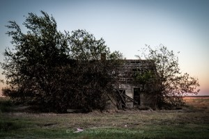 Abandoned Farm House Just North of Itasca, Texas