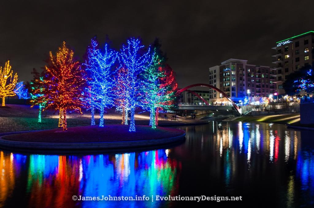 Christmas Lights Vitruvian Park Addison Texas Images