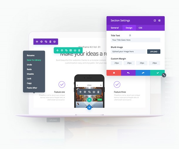 Divi 3.0 Visual Editor